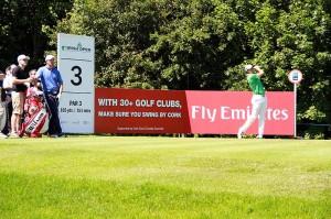 Irish Open Practice Round 3rd Tee