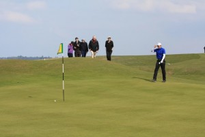 West Or Ireland Semi Final 18th hole