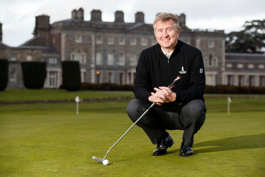 Dave Kearney ' Irish ladies golf union coach